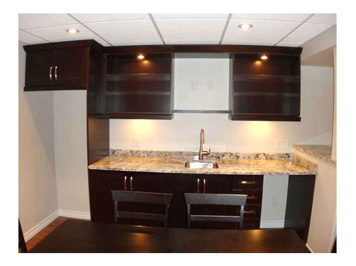 ... Basement reno; Walk up bar ... & Germano Creative Interior Contracting Ltd. | Cozy basement