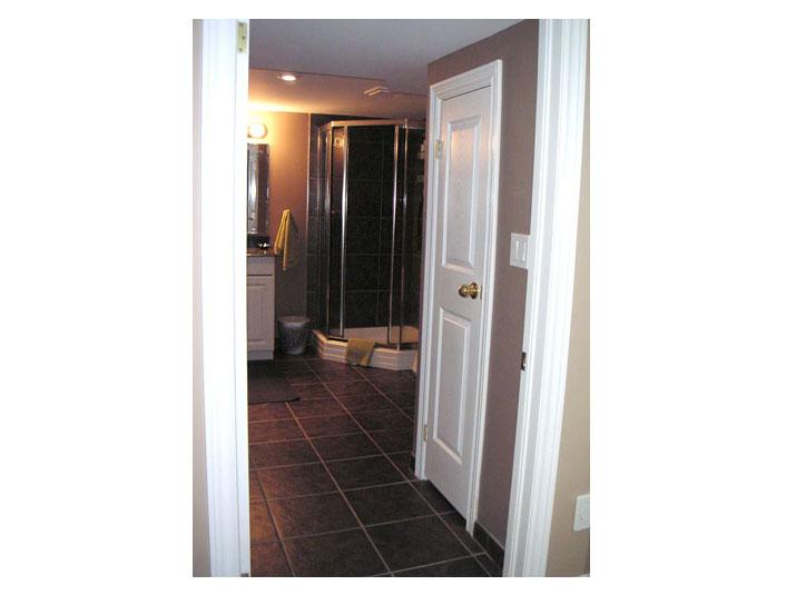 Basement 3-piece bathroom