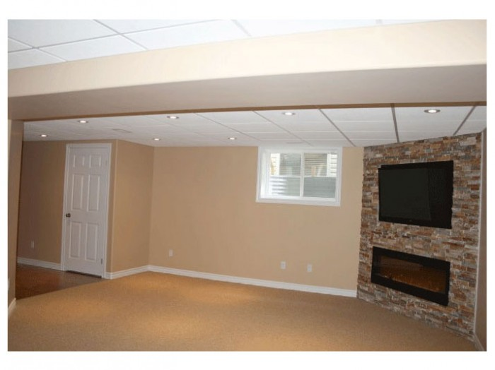 Basement family room
