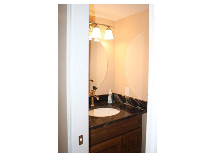 2-piece bathroom in basement
