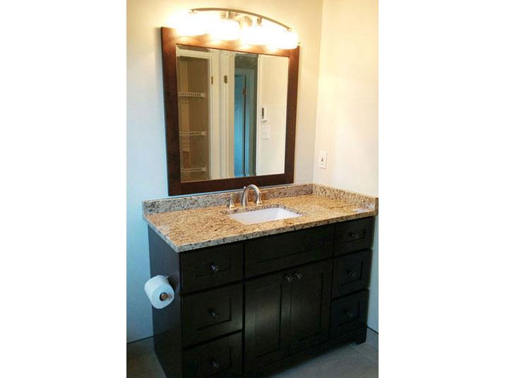 Maple vanity base
