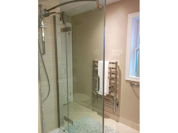 Wall-mount electric towel warmer