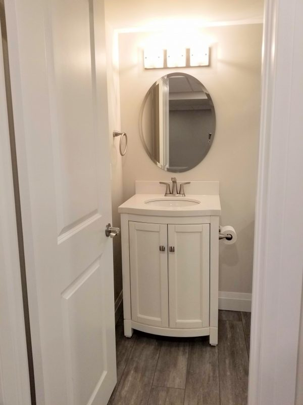 Basement 3-piece bathroom