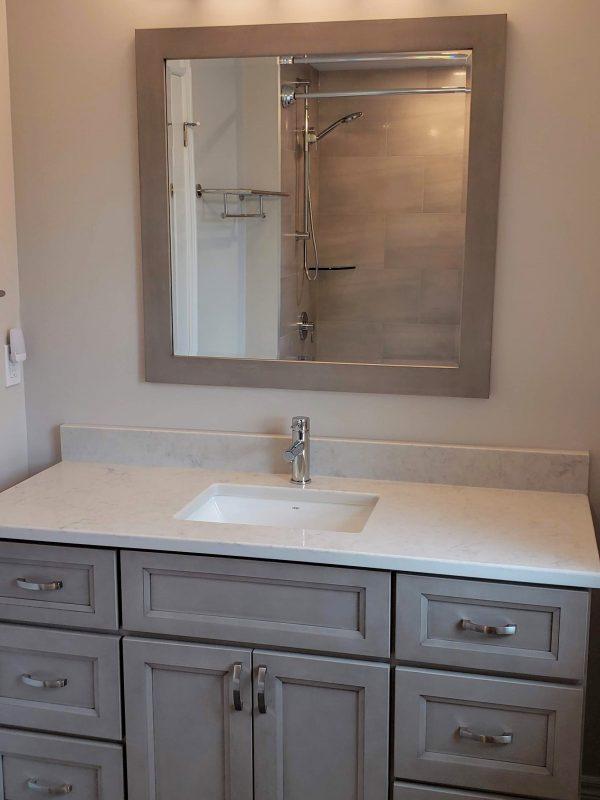 Main bathroom renovation