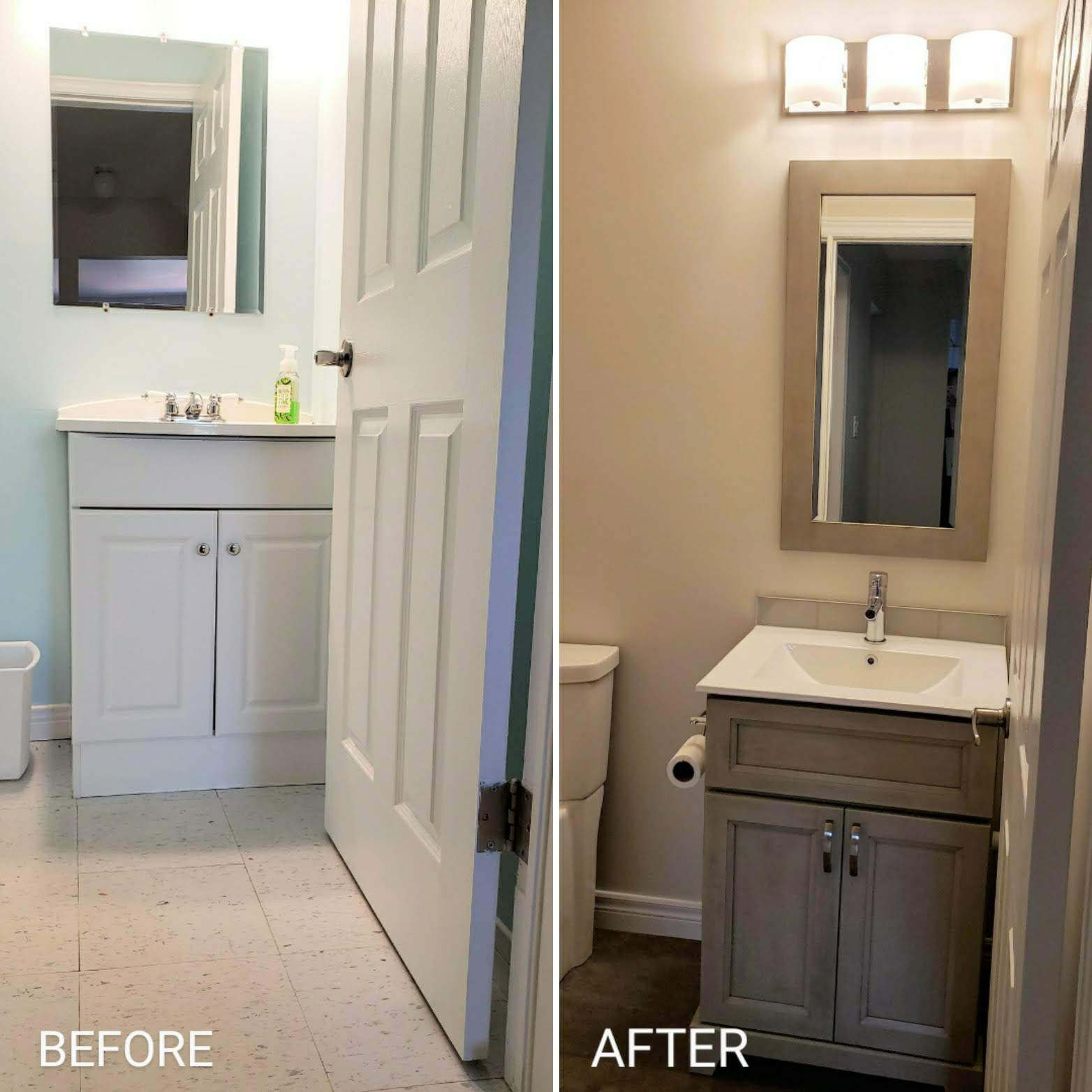 Part 1: Powder Bathroom Renovation