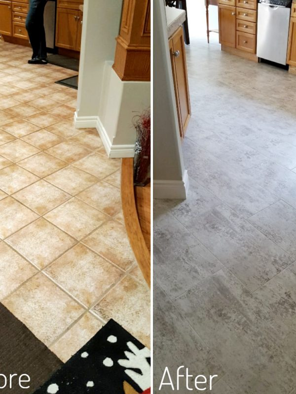 Before and After Main Floor