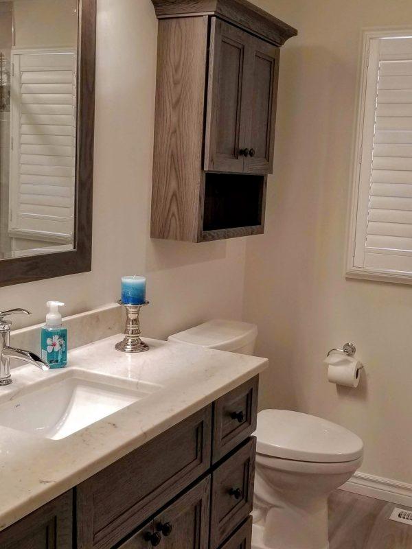 3-piece bathroom renovation