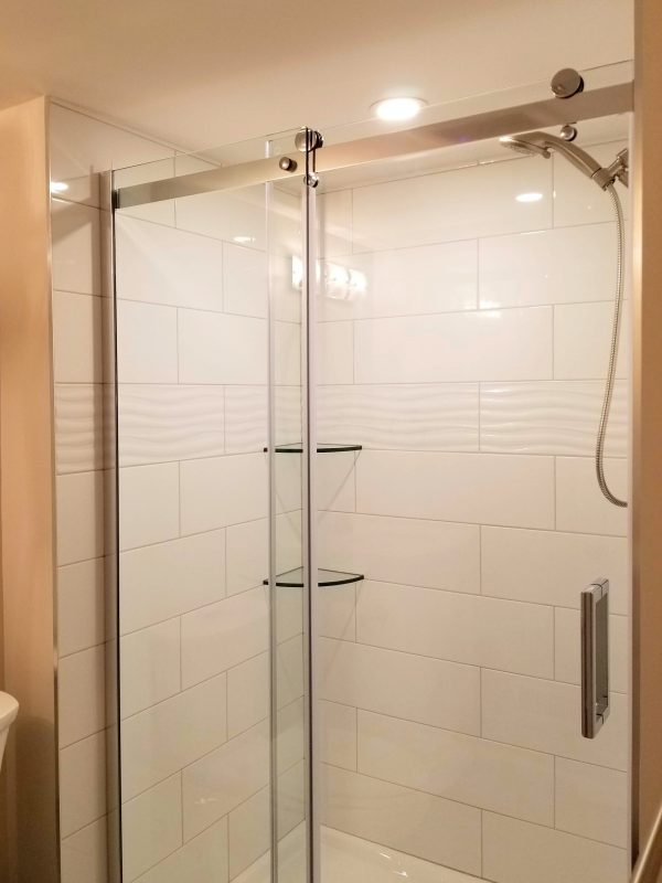 Glass Shower System