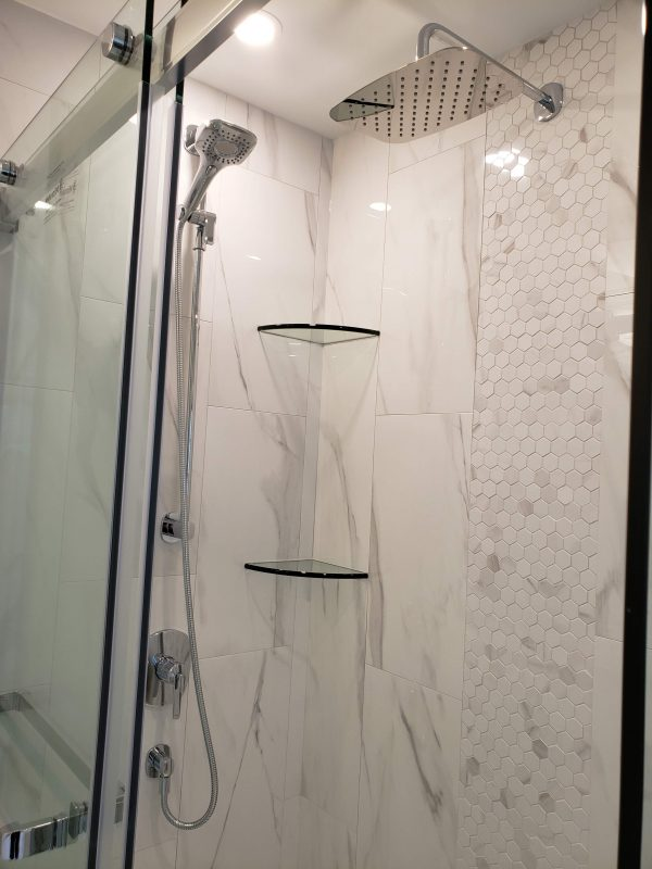 Waterfall shower head