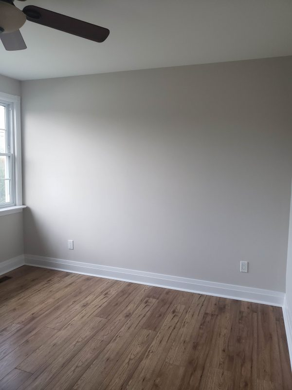Living room dividing wall built