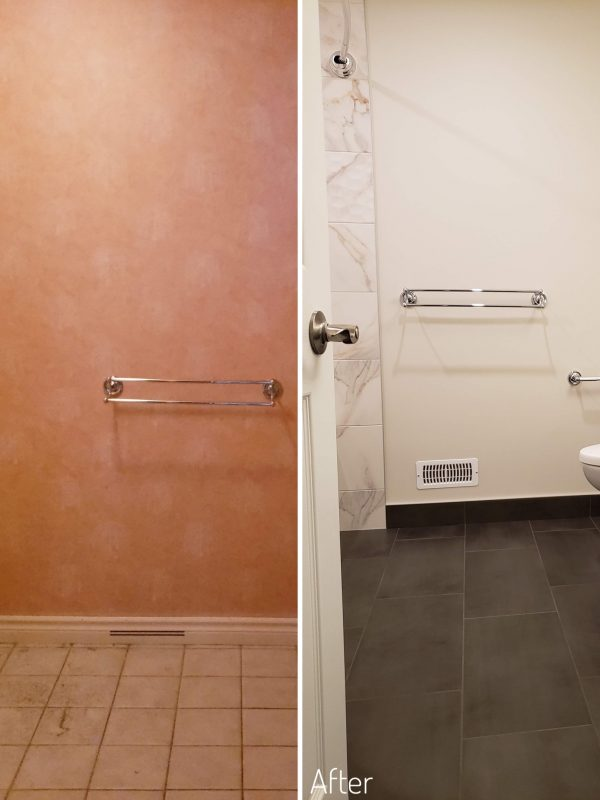Before and After Main Bathroom