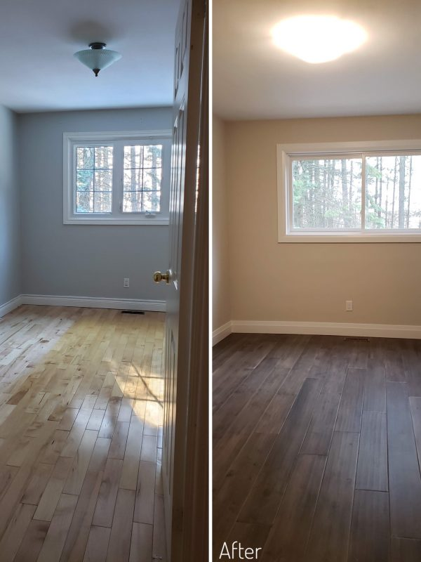 Before and After Bedroom