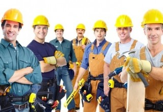 Group of professional contractors