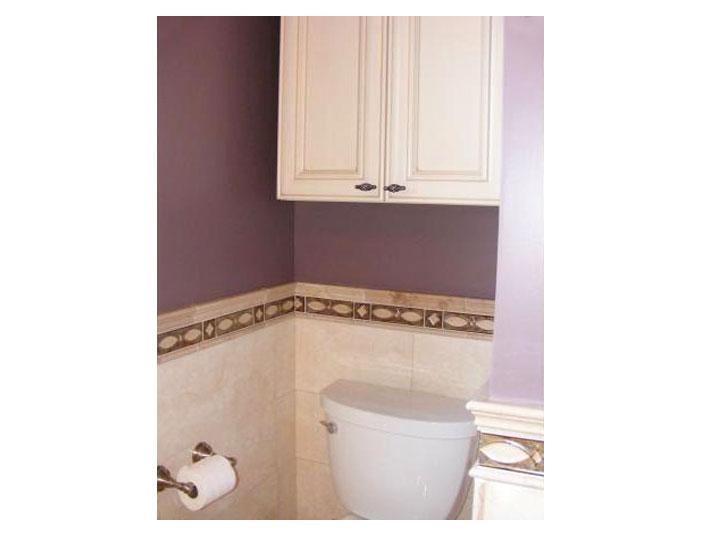 Bathroom wall tile design