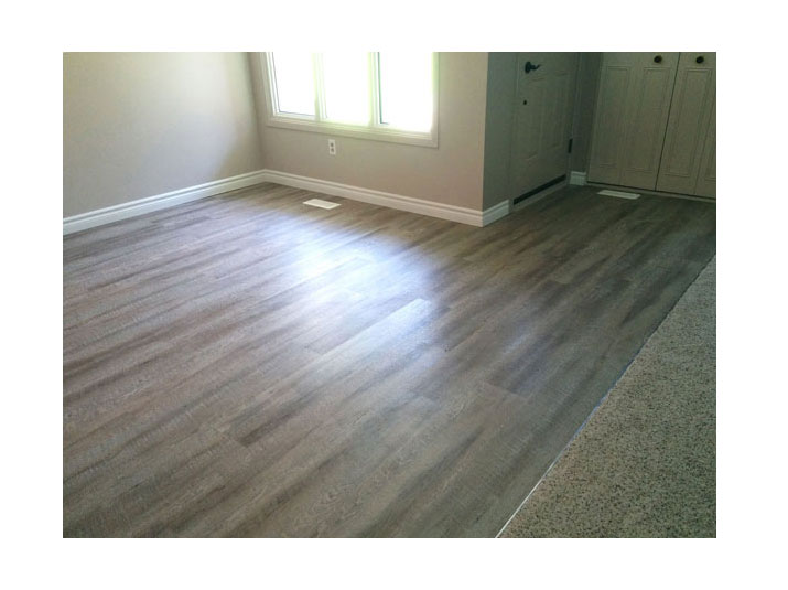 Affordable and stylish vinyl plank flooring
