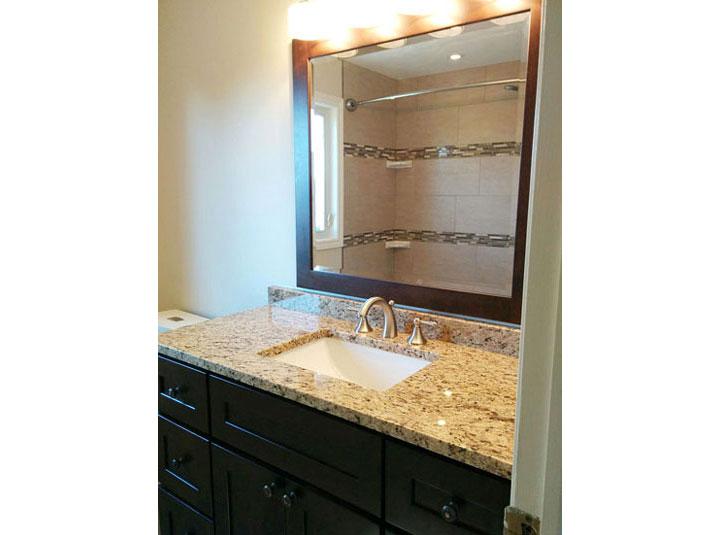 Vanity base & granite countertop