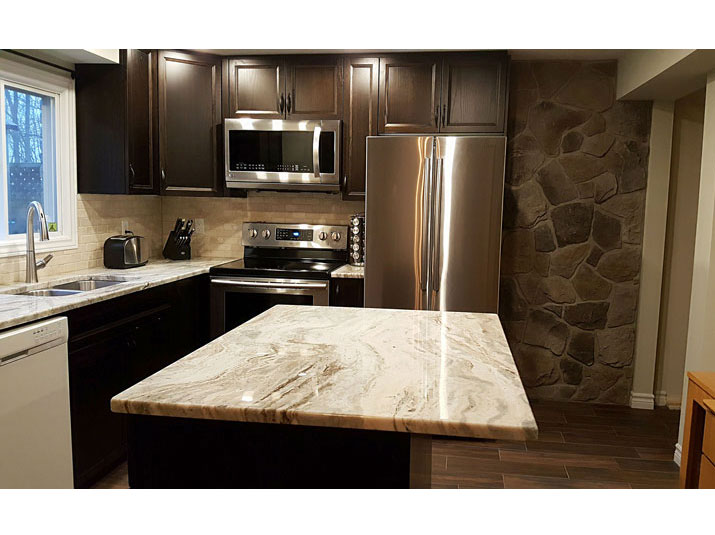 Fantasy brown granite kitchen countertops