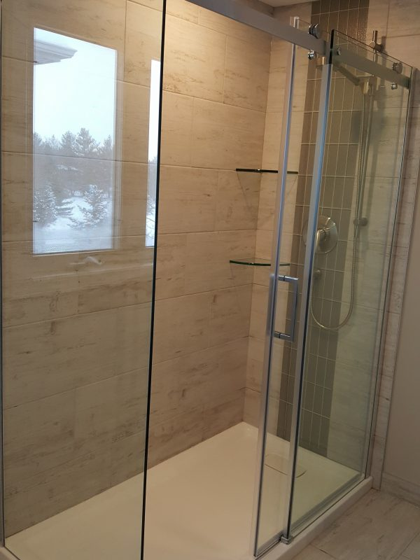 Glass shower