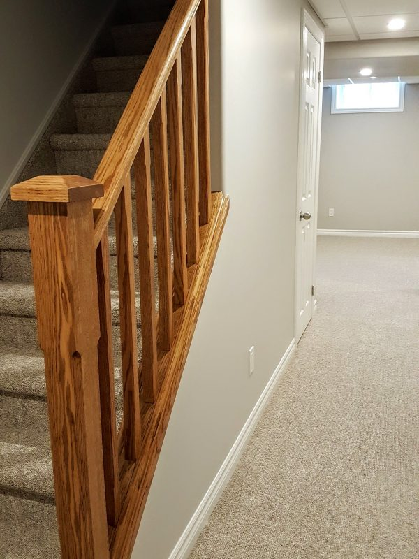 Finished stairwell