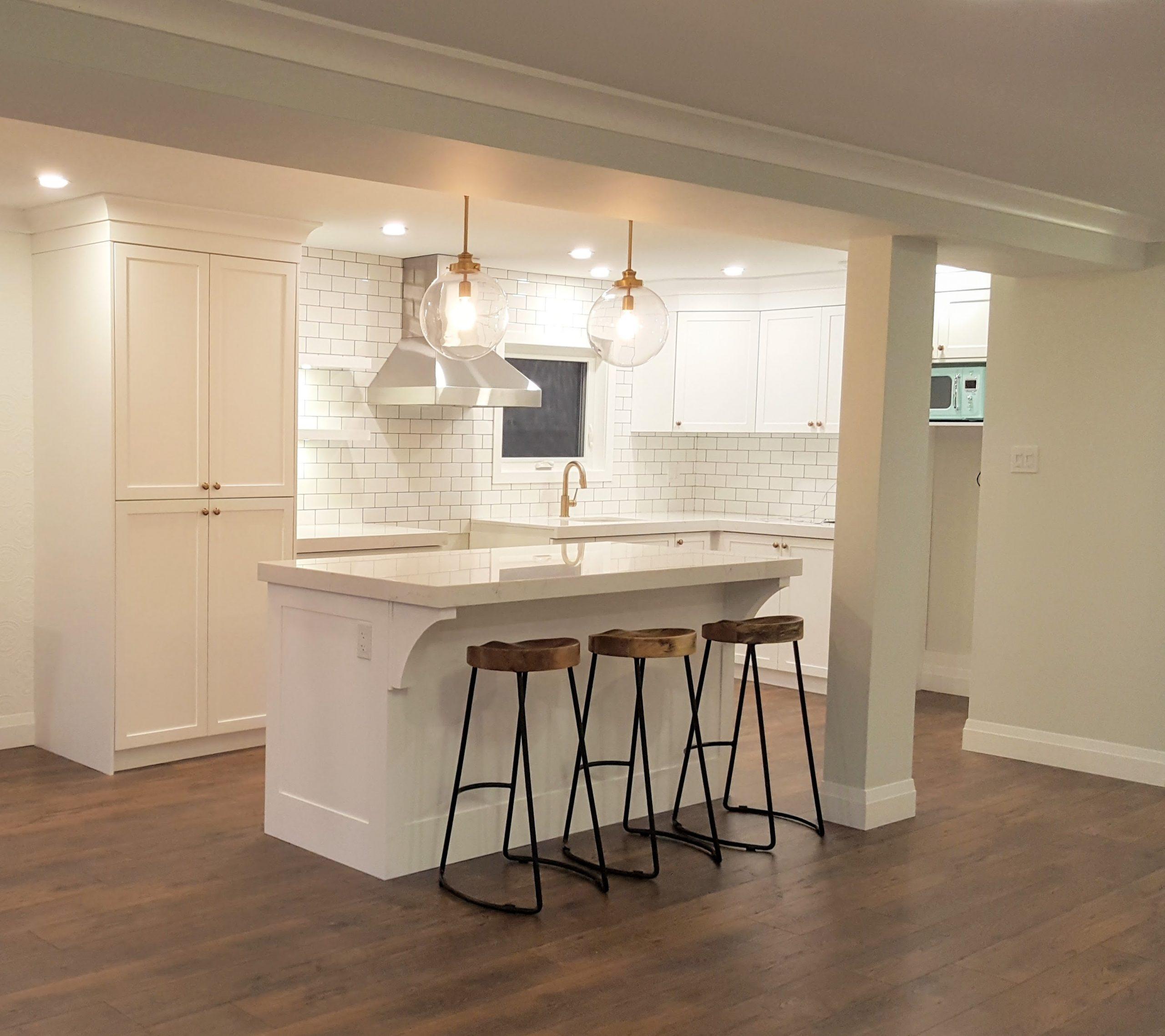 Eclectic Main Floor Renovation