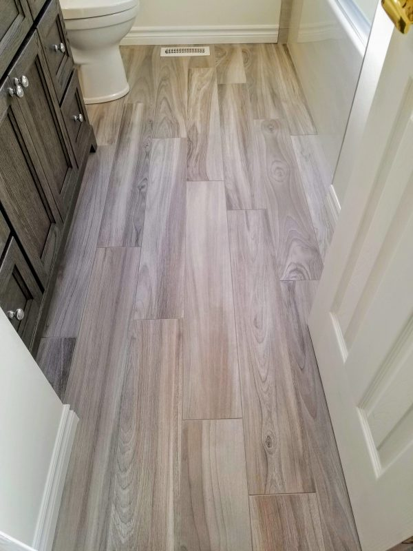 Plank tile floors