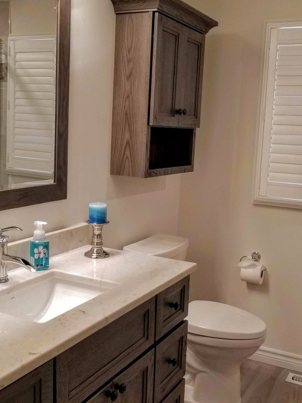 3-piece bathroom renovation