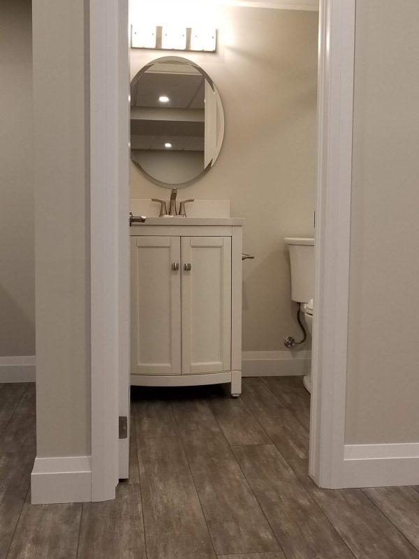 3-piece basement bathroom