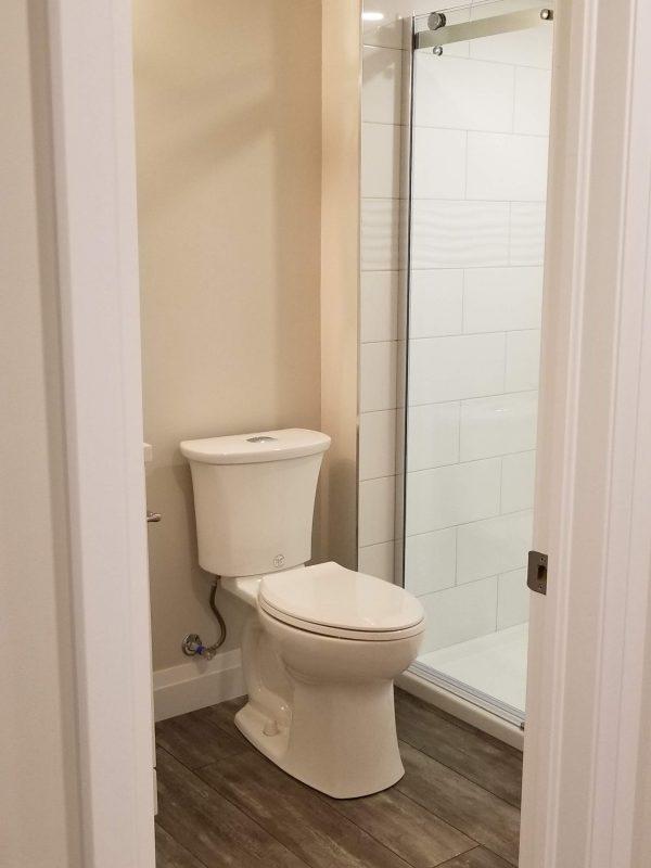 Upgraded toilet