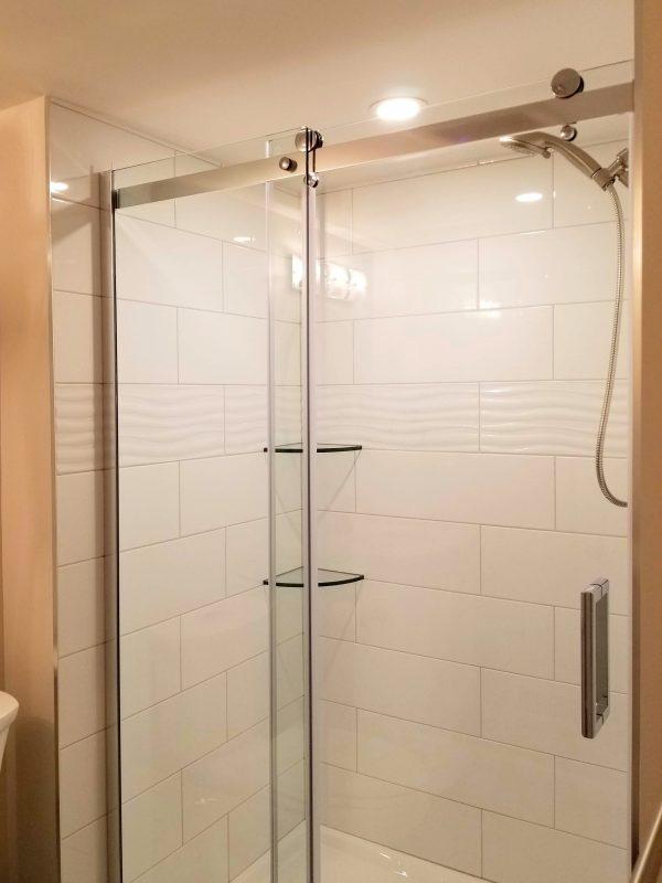 Glass Shower System