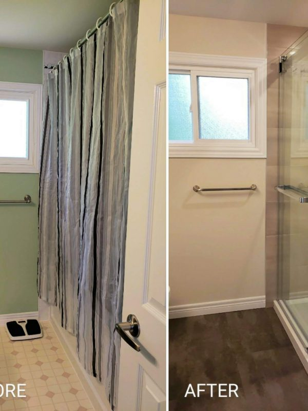 Ensuite bathroom renovation