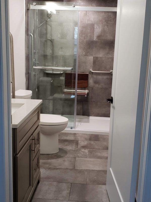 3 piece bathroom