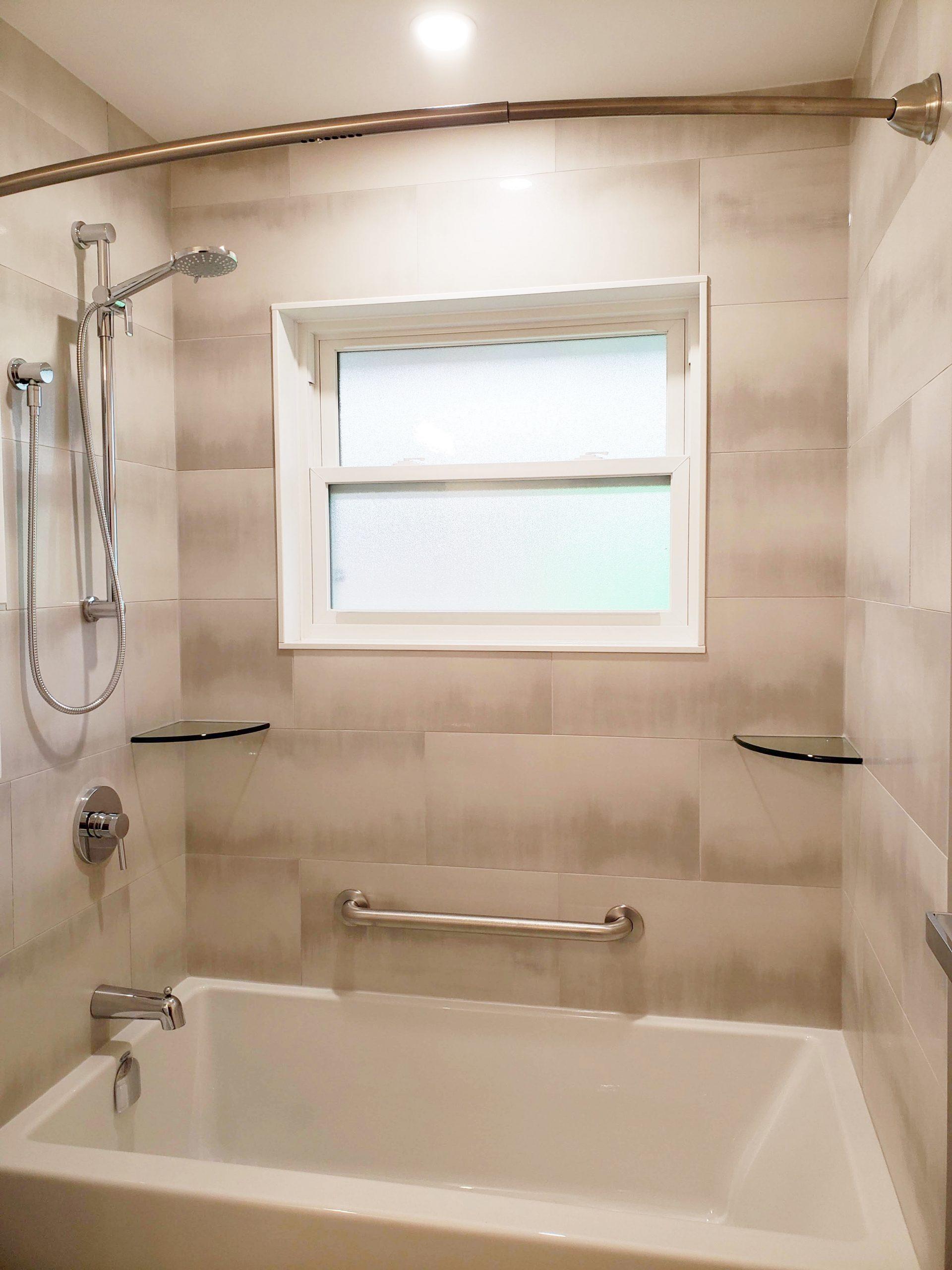 Silver Satin Bathroom