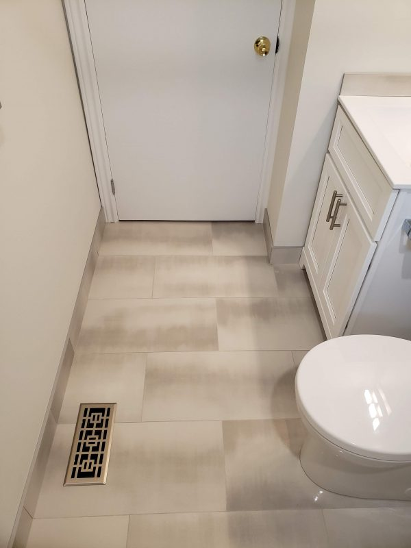 12x24 semi-polished porcelain floor tile