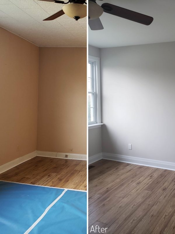 Before and After Living room