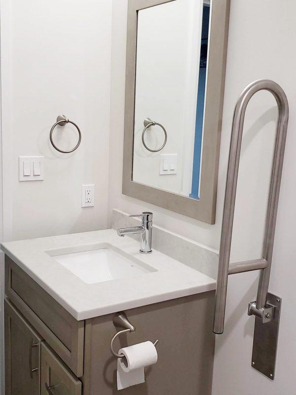 Single sink vanity