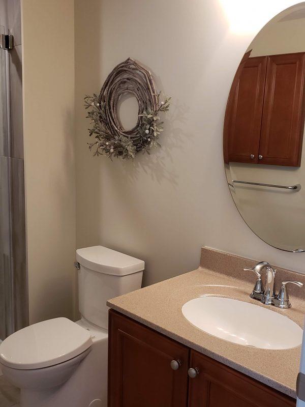 Repurposed existing vanity